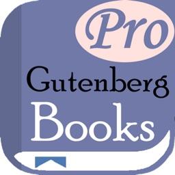 Gutenberg Books PRO: NO ADS!