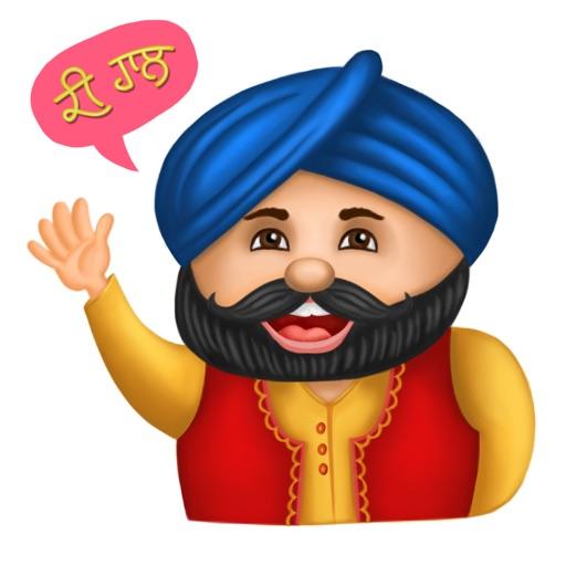 Punjabi Sticker for iMessage