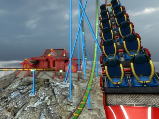 Roller Coaster Himalayas VR screenshot 7