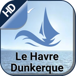 Le Havre Dunkerque offline nautical boating charts