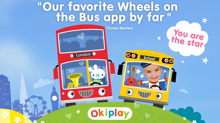 Wheels on the Bus Song & Games