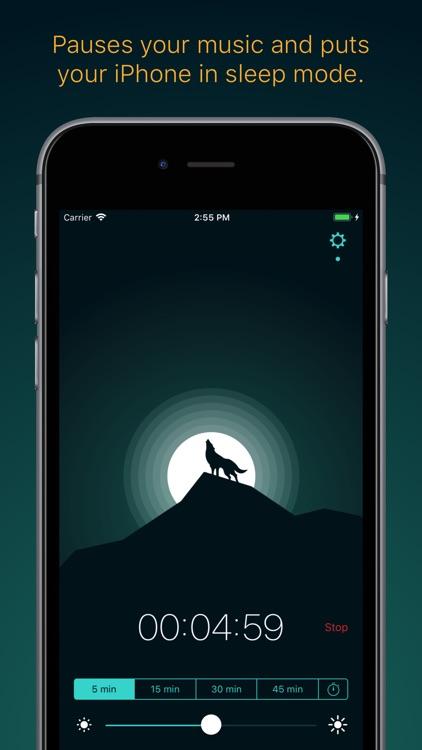 Snoosic - Music Sleep Timer screenshot-0