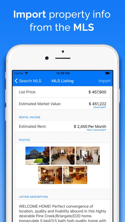 DealCheck: Analyze Real Estate screenshot-1