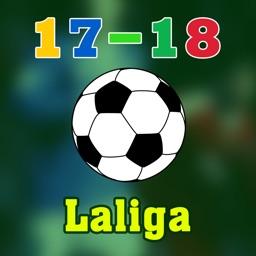 Live Scores for Laliga 2017-2018