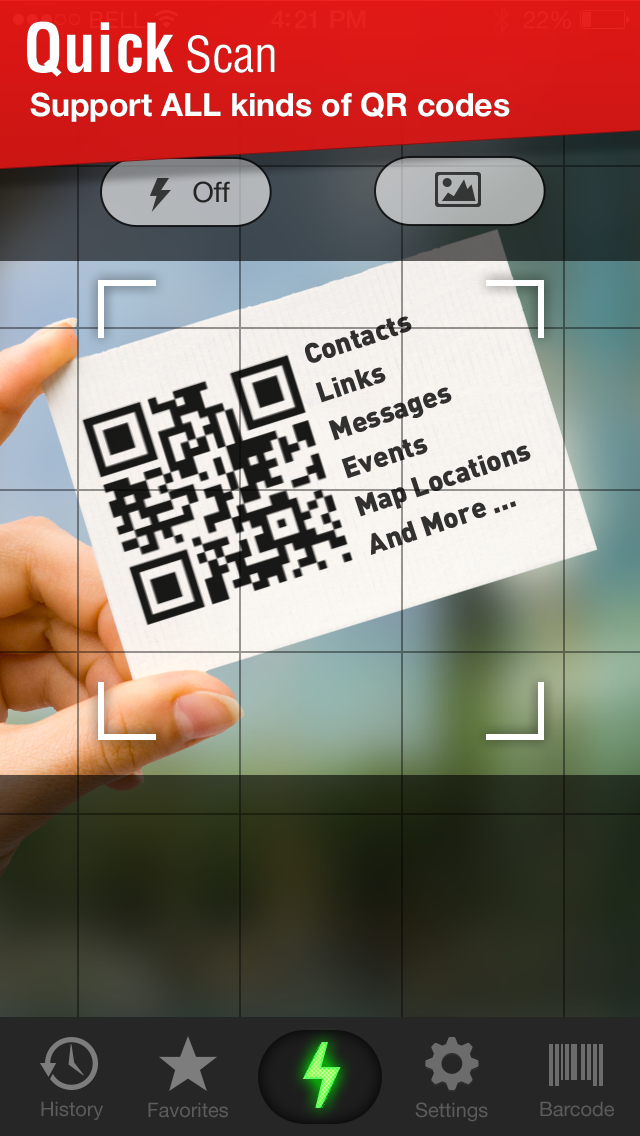 Screenshot for QR Code Scanner in Germany App Store