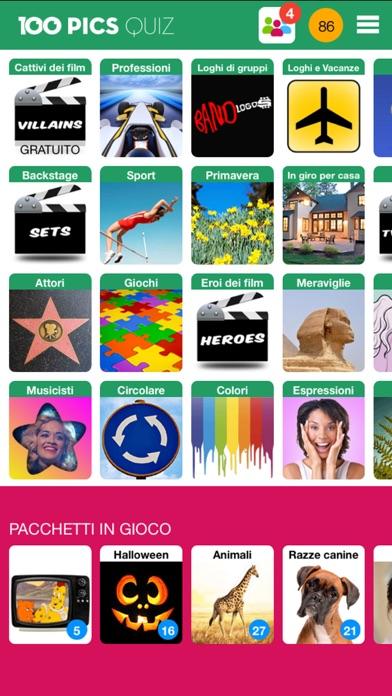Screenshot of 100 PICS Quiz1