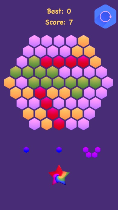 Hexagonal Merge - Premium screenshot 1