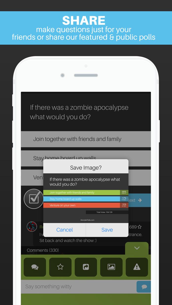 Wonder Polls: Got Questions? Screenshot