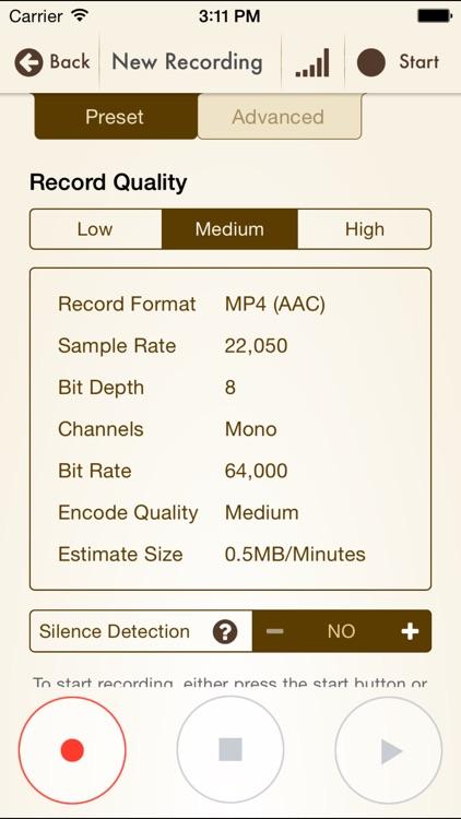 Voice Record Pro 7 Full screenshot-4