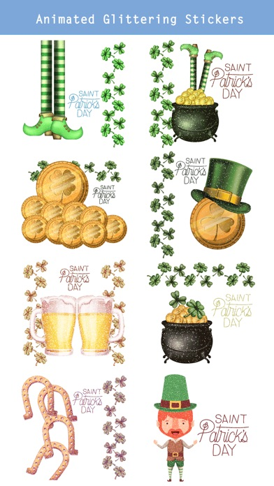 Glittering St. Patrick's Day screenshot 2