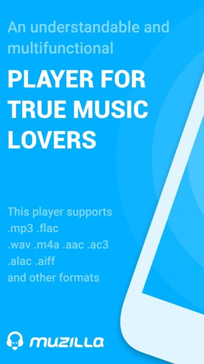 Muzilla: Music Player MP3 FLAC by Philipp Batura