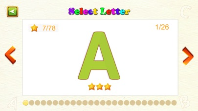 ABC Learning Tracing Letters screenshot one