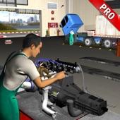 美国卡车机械模拟器,汽车修理厂 3D