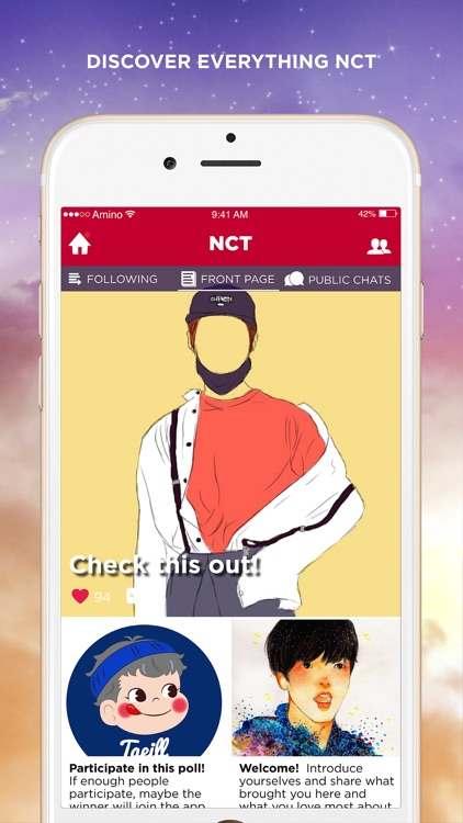 Amino for NCT Fan Club