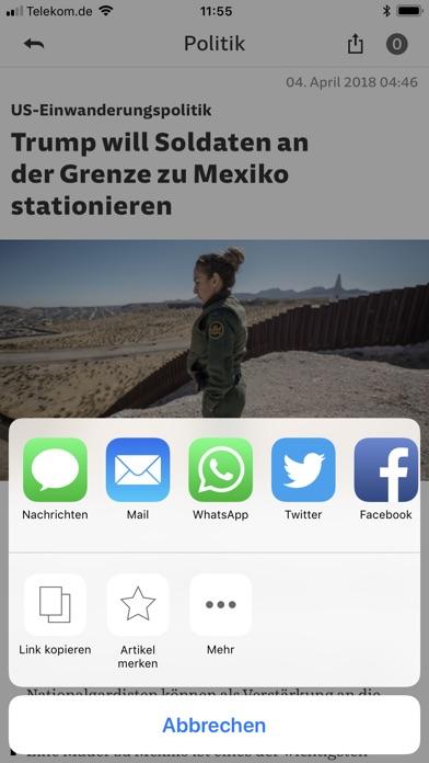 SZ.de Nachrichten SZ Скриншоты6