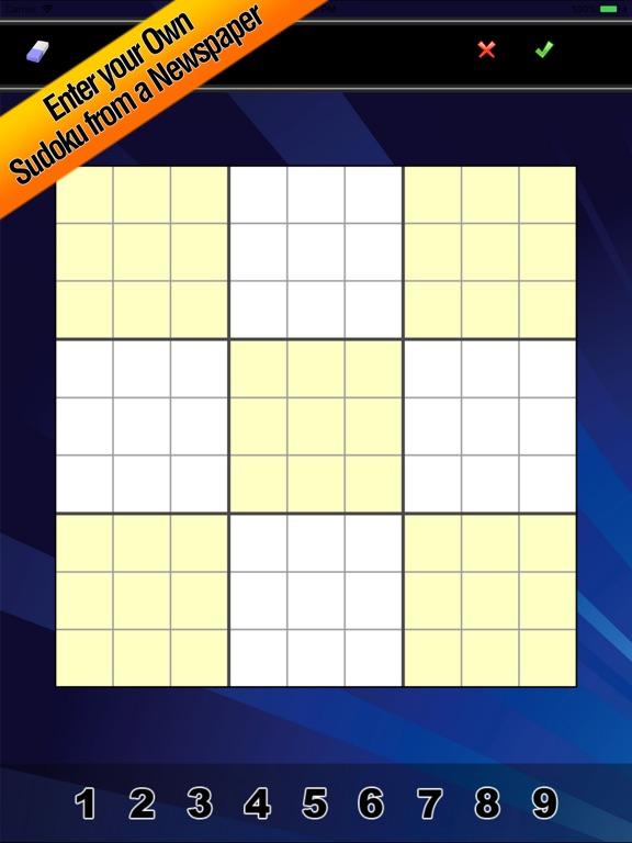 Судоку - головоломка игра для iPad