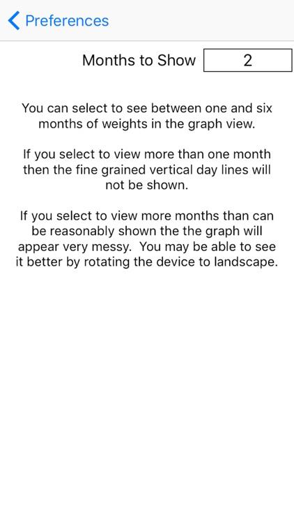 Weight Monitor screenshot-3
