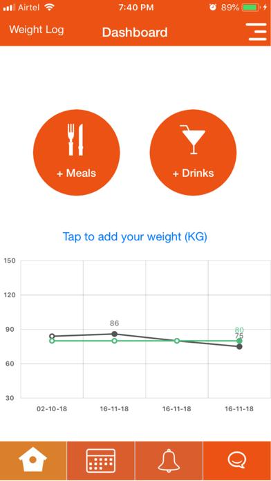 Our Dietitian screenshot one