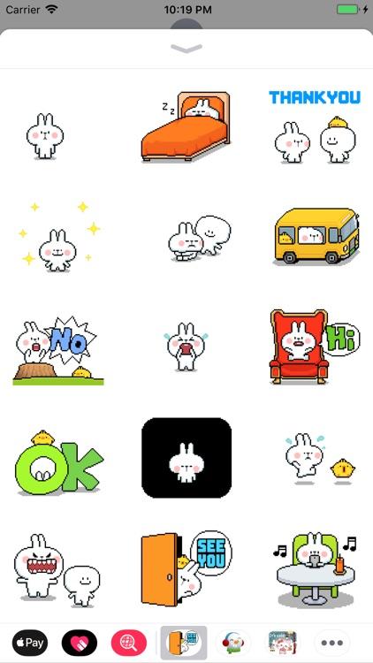 Bunny EDP Animated Stickers