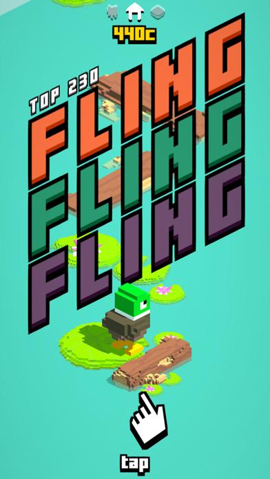 Fling - Jump, Collect & Unlock screenshot one