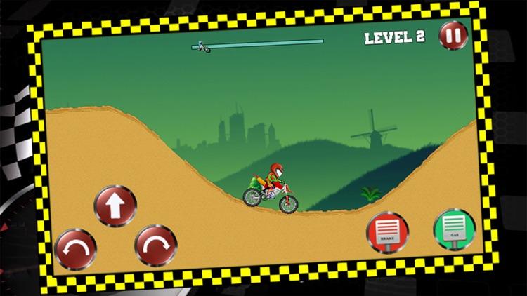 Night Hill Bike Racing