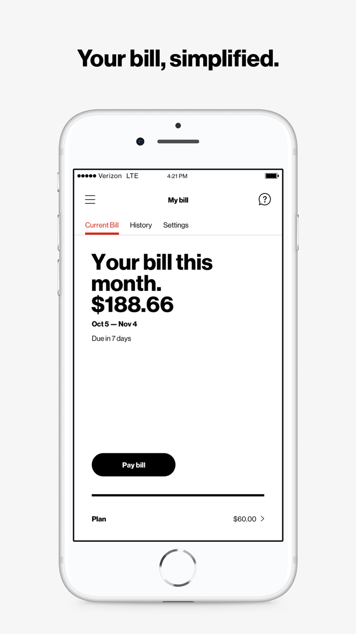 My Verizon Screenshot