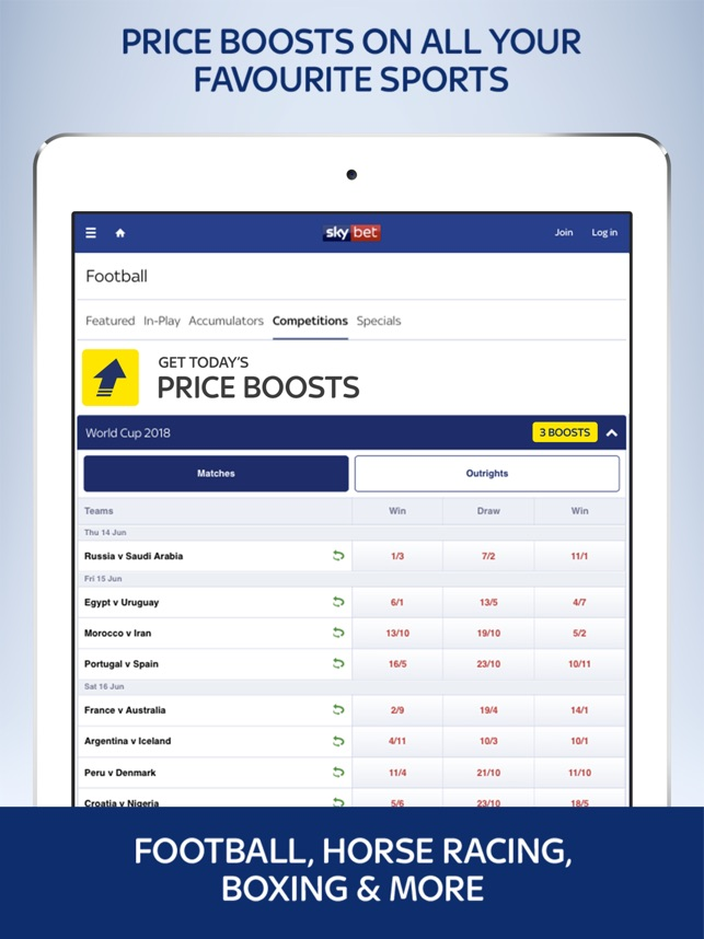 Sky Bet - Sports Betting on the App Store