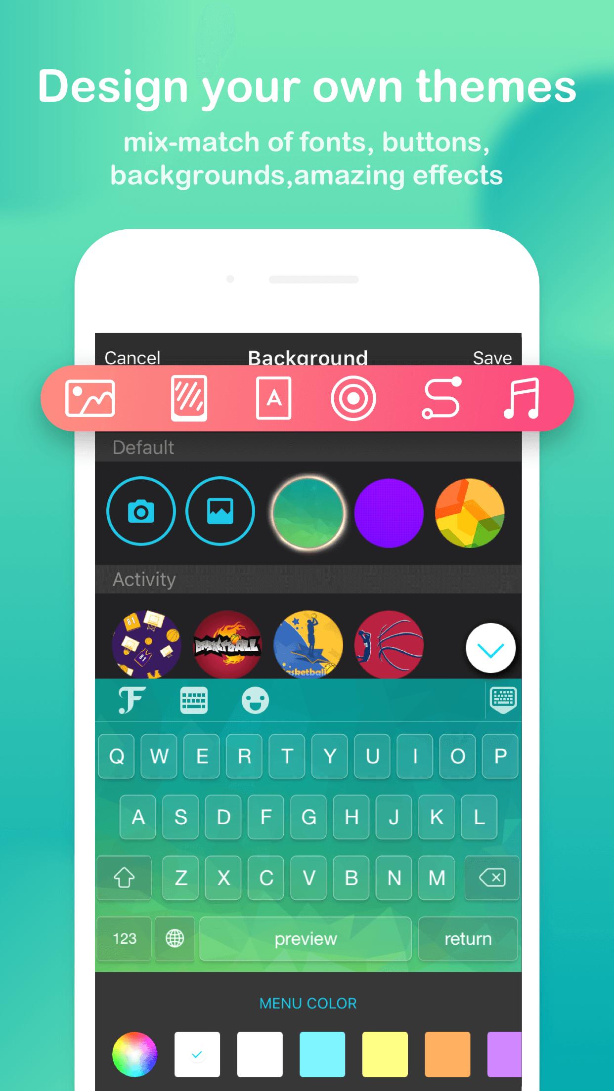 FancyKey - Keyboard Themes Screenshot
