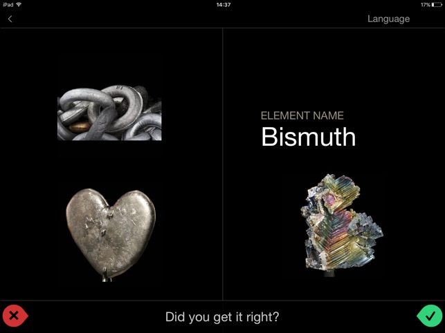 The elements flashcards on the app store urtaz Choice Image