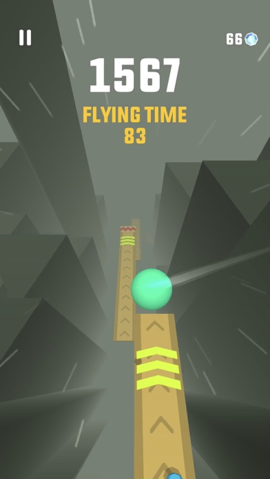 Screenshot of Sky Ball App