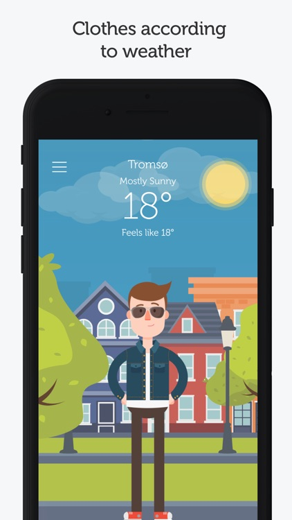 WTHRD - Weather & Clothing screenshot-0