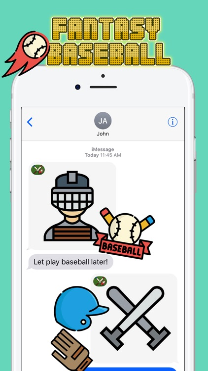 Fantasy Baseball Stickers