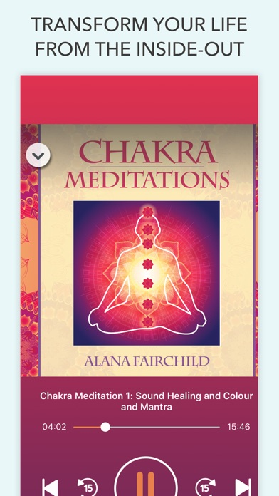 Chakra Meditations screenshot 3