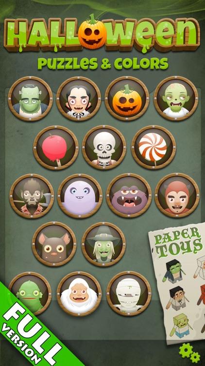 Halloween: Puzzles Kids & Baby