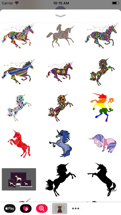 Majestic Unicorn Stickers screenshot-3