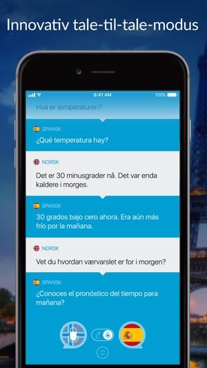 norsk spansk tekst oversetter