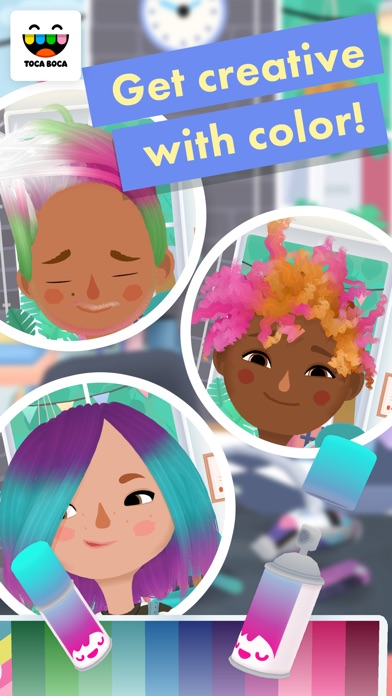 Screenshot for Toca Hair Salon 3 in United States App Store