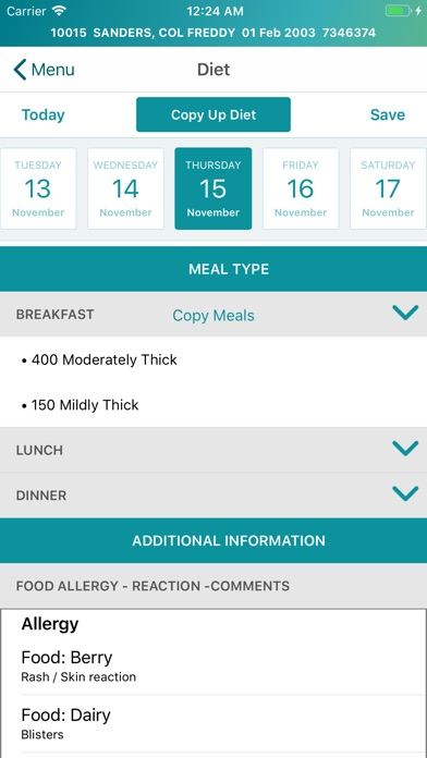 Screenshot for EMR Mobile in United States App Store