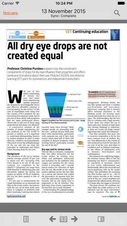 Optician Magazine screenshot-3