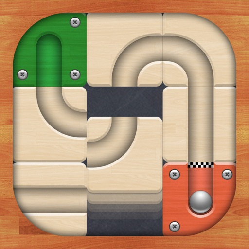 Route slide puzzle game