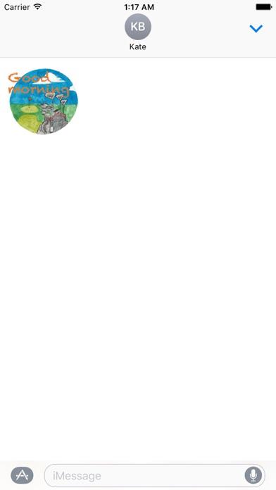 Watercolor Golf Sticker screenshot 2