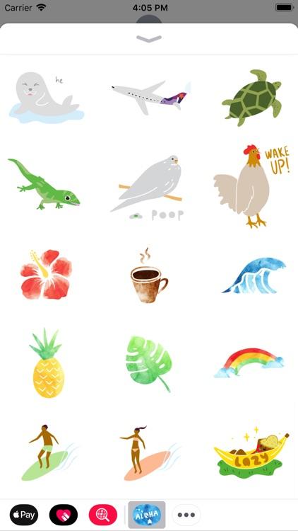 Aloha Sticker Pack screenshot-4