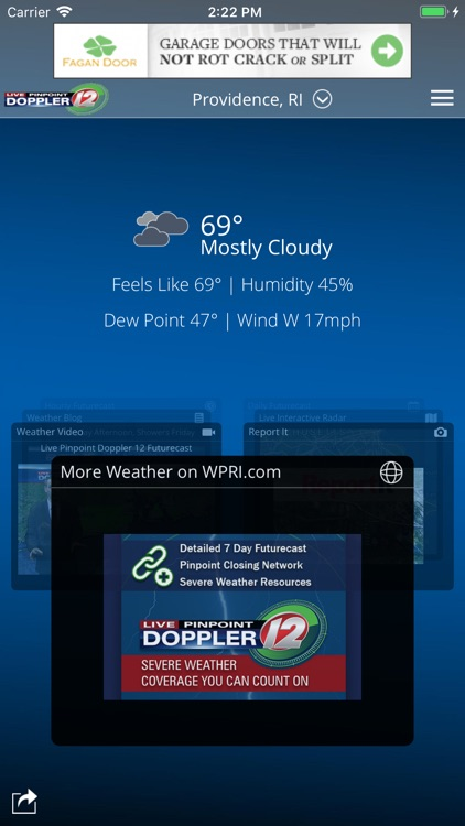 WPRI Weather screenshot-0