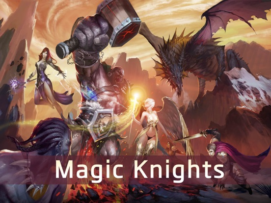 Magic Knights на iPad