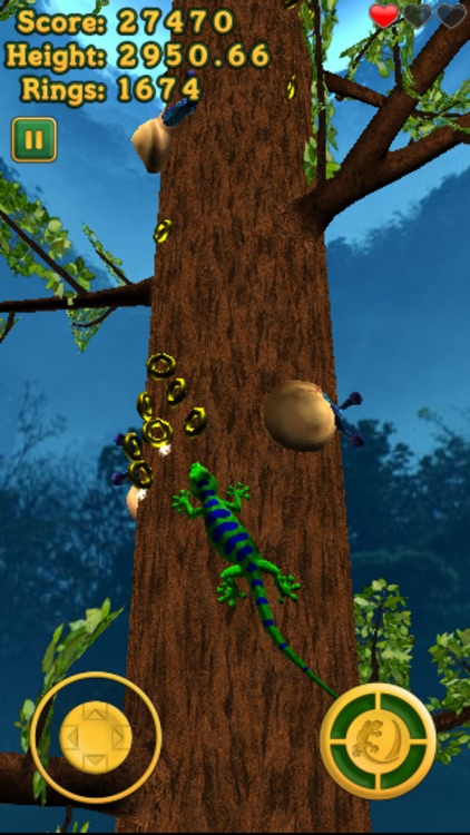 Crazy Lizard - The Amazing Journey screenshot-4