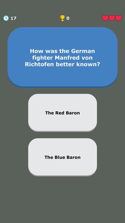 WW1 Quiz - War History Trivia screenshot-5