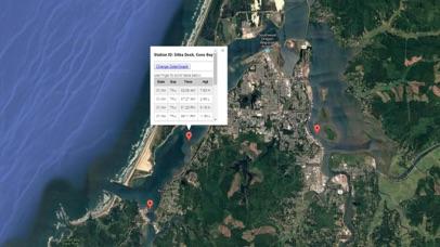 Oregon Tide Tables & Weather Screenshot