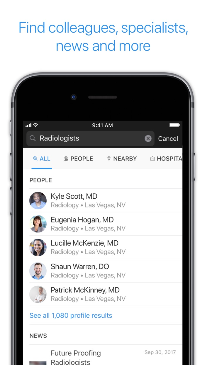 Doximity - Medical Network Screenshot