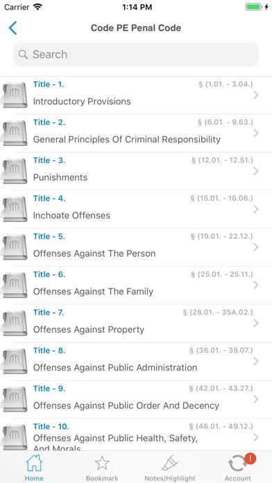 California Laws  (CA Code) screenshot three