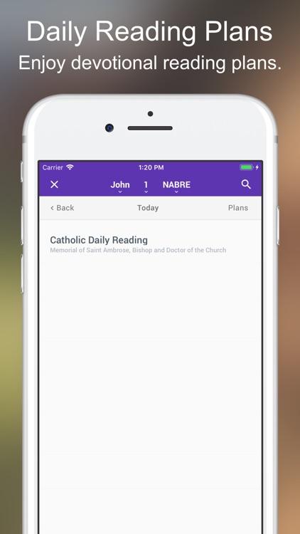 Catholic Bible Lite screenshot-4